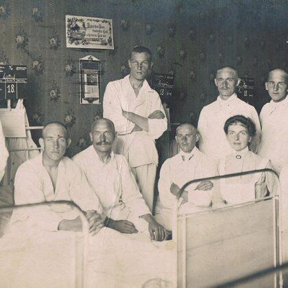 Reservelazarett Meierei Bolle Berlin 8.8.1917