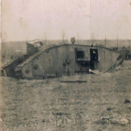 Tank Im Schlachtfelde 14.05.1918
