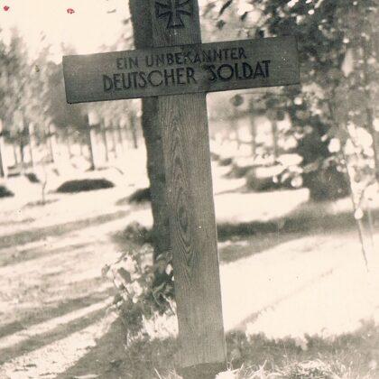 Soldatengräber und Friedhöfe beide Weltkriege